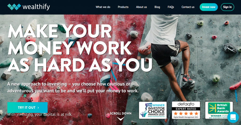 Wealthify Review: Invest With £1 And Immediately See Results