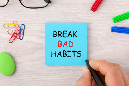 lifestyle ideas break bad habits